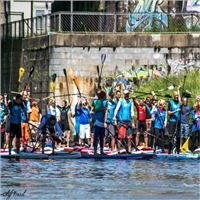 SUP RACE AM DONAUKANAL