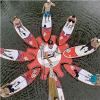 SUP YOGA AM SURF WORLDCUP