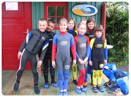 Wassersport-Schnupperkurs für Kids in Zusammenarbeit mit den Gemeinden