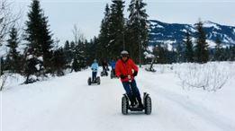 Schneeketten Segway Tour