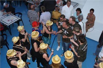 Hamburger Bord-Party