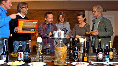 Bierverkostung Gruppe Beispiel