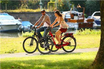 E-Bike Vermietung am Bostalsee