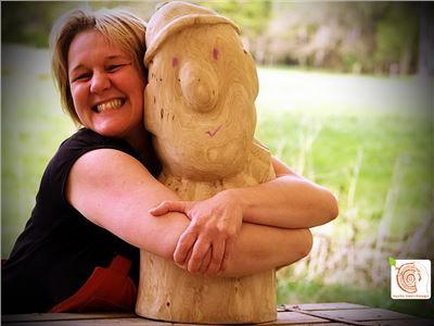 6 Bildhauerkurse mit Holz K1 bei Berlin
