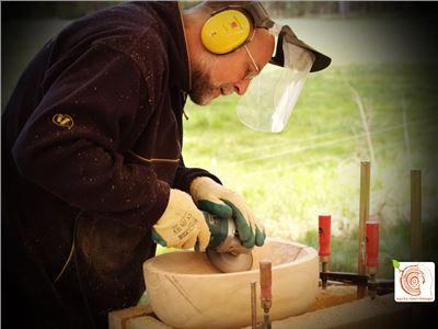 7 Bildhauerkurse mit Holz K1 bei Berlin