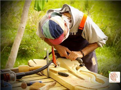 2 Bildhauerkurse mit Holz K1 bei Berlin