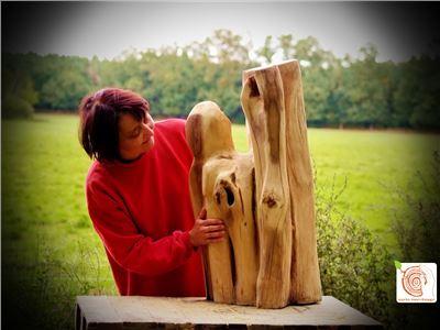 12 Bildhauerkurse mit Holz K1 bei Berlin