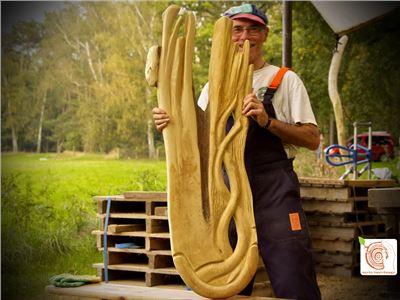 3 Bildhauerkurse mit Holz K1 bei Berlin