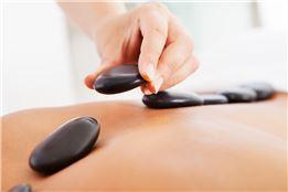 Valentinstagangebot -  Hot Stone Massage ca. 60 Min.