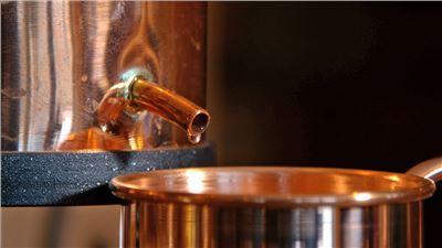 Destillation Feinbrand Whisky