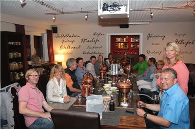 Gruppenevent Schnaps destillieren
