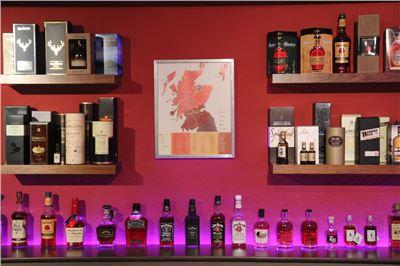 Internationale Whisky-Sorten