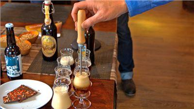 Gestacheltes Bier
