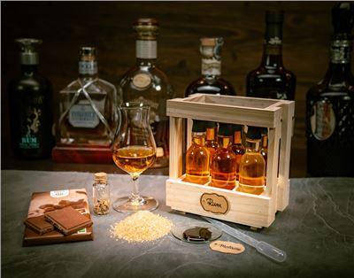 Rum-Tasting Box für Online Webinare