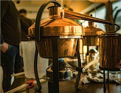 Destille Schnapsbrennkurs