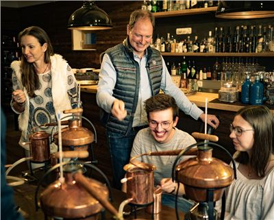 Gin selber destillieren