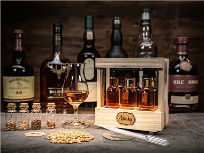 Whisky-Tasting Box für Online Webinare