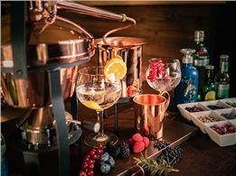 Gin selbst destillieren -  kurzes Gruppen-Gin-Seminar in Vils