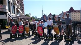 Berlin Segway 1-h guided Tour Top10 • choice of 3 Routes