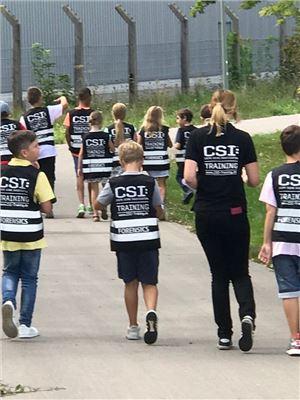 CSI Ermittler Westen für die Kinder