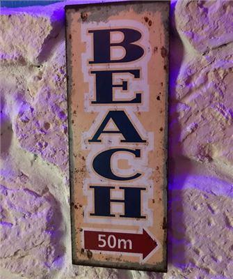 50m bis zum Strand
