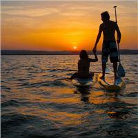 SURF WORLDCUP - SUNDSET & VOLLMONDPADDLING