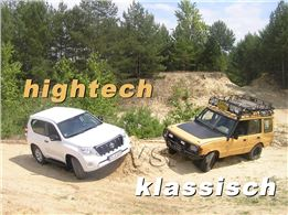 4x4 Geländewagentraining Basis mit Land Rover und Toyota