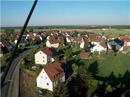 Ballonfahrt Gebiet Hof