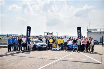 RENAULT Sport Track Day auf dem Sachsenring