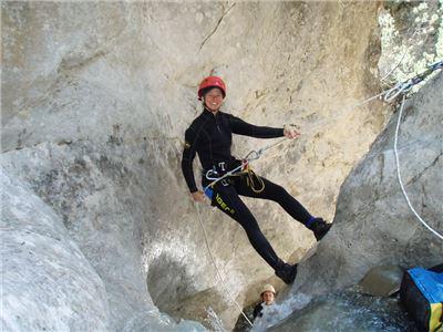 Canyoningtour Sylvenstein Einsteiger