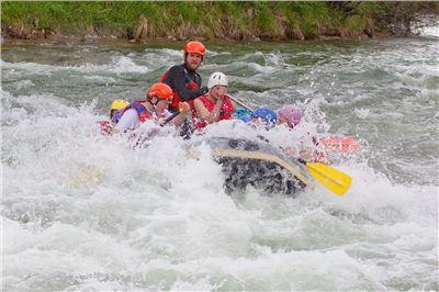 Isar-Rafting