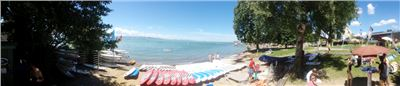 SUPs am Strand