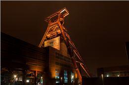 Zeche Zollverein und Kokerei in Essen Langzeitbelichtung (LZB) Fotoworkshop