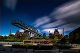 Fotografieren mit Filtern im Landschaftspark Duisburg Nord mit Lost Place Fotoworkshop