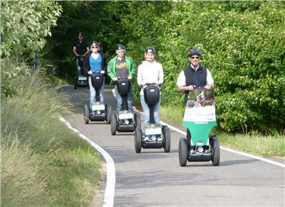 Segways on the road again!