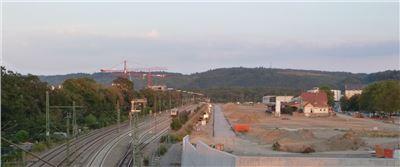 Die neue Großbaustelle Tübingens: der Güterbahnhof