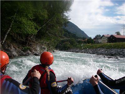 Rafting Sanna