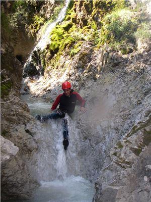 Canyoning in Tirol