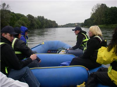 Rafting Donau