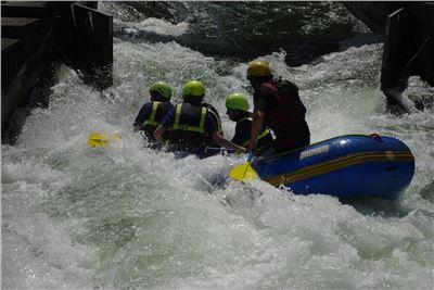 Rafting Eiskanal