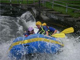 Rafting Augsburg Olympiastrecke