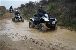 Regental On Offroad Quad Tour bei Regensburg  3 Std